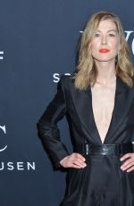 ROSAMUND PIKE at IWC Schaffhausen 5th Annual for the Love of Cinema Gala at Tribeca Film Festival in New York 04/20/2017