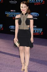 ROSANA PANSINO at Guardians of the Galaxy Vol. 2 Premiere in Hollywood 04/19/2017