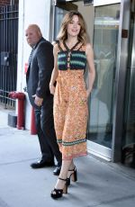 ROSE BYRNE at This Morning Show in New York 04/18/2017