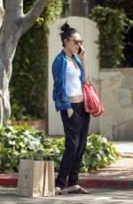 RUMER WILLIS Out and About in West Hollywood 04/28/2017