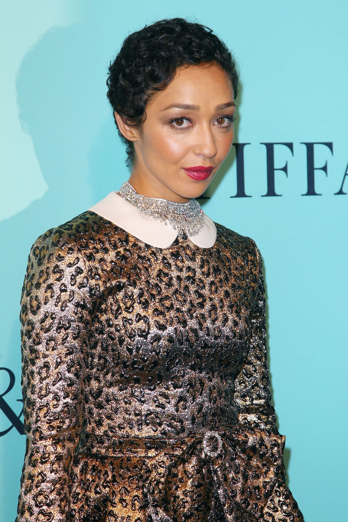Ruth Negga Is Met Best Dressed 2017 Lainey: RUTH NEGGA At Tiffany & Co. 2017 Blue Book Collection Gala