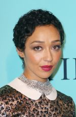 RUTH NEGGA at Tiffany & Co. 2017 Blue Book Collection Gala in New York 04/21/2017