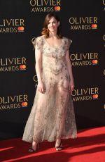 RUTH WILSON at Olivier Awards in London 04/09/2017
