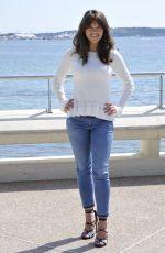 SABRINA BARTLETT at Knightfall Photocall in Cannes 04/04/2017
