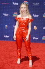 SABRINA CARPENTER at 2017 Radio Disney Music Awards in Los Angeles 04/29/2017