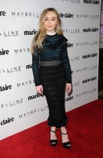SABRINA CARPENTER at Marie Claire Celebrates Fresh Faces in Los Angeles 04/21/2017