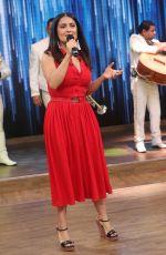SALMA HAYEK at Despierta America TV Show in Miami 04/24/2017