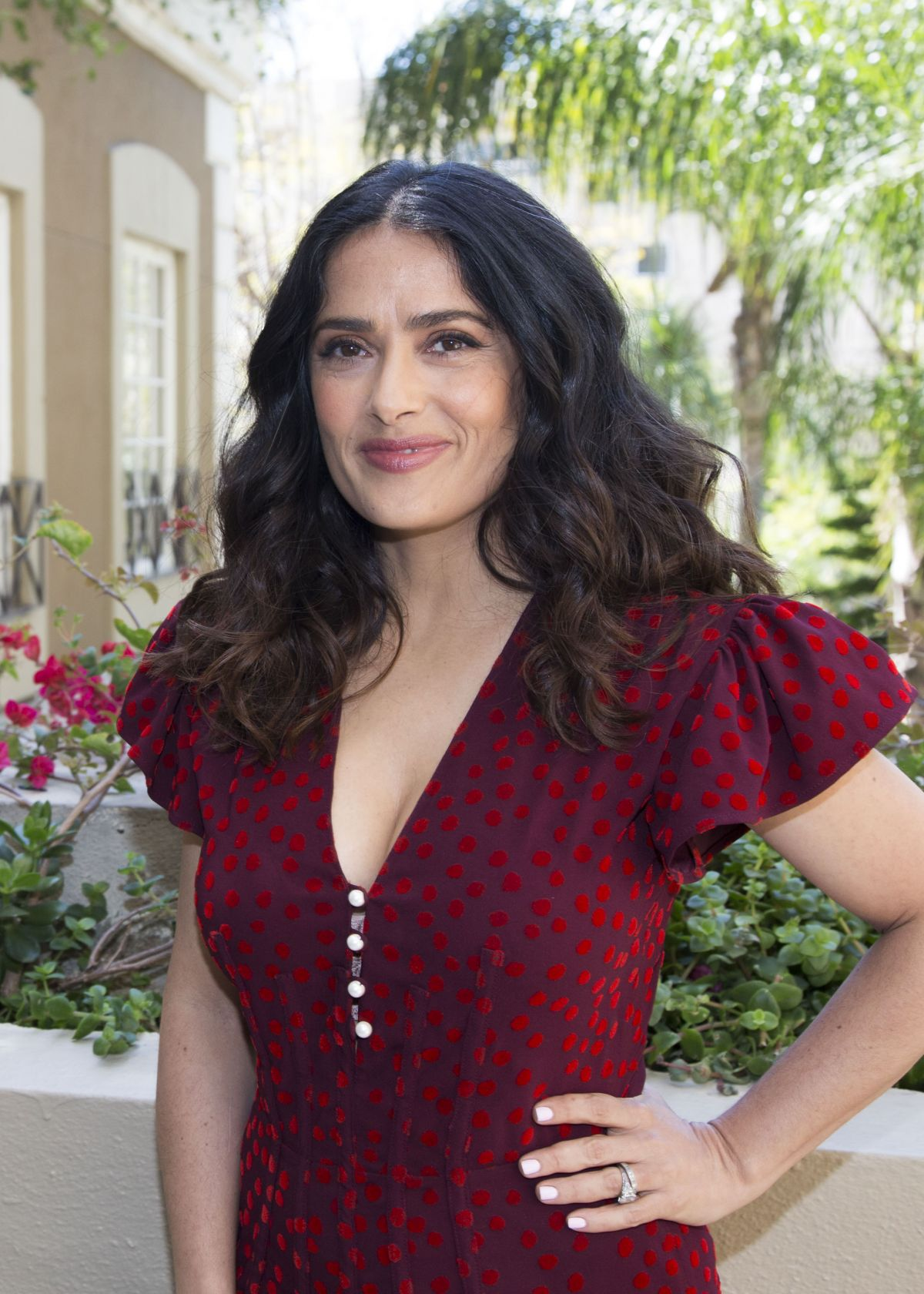 Salma Hayek At How To Be A Latin Lover Press Conference In Beverly Hills 04