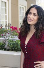 SALMA HAYEK at How to be a Latin Lover Press Conference in Beverly Hills 04/01/2017