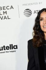 SALMA HAYEK at Tribeca Shorts: New York - Group Therapy at 2017 Tribeca Film Festival 04/21/2017