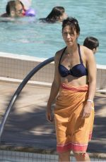 SAMANTHA CAMERON in Bikini on the Beach in Miami 04/09/2017