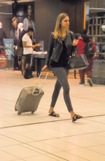 SAMANTHA HARRIS at Airport in Melbourne 04/21/2017
