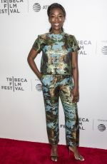 SAMIRA WILEY at The Handmaid's Tale Premiere at 2017 Tribeca Film Festival in New York 04/21/2017