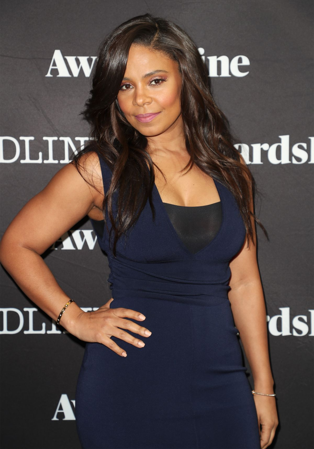 SANAA LATHAN at Contenders Emmys Presented by Deadline in Los Angeles 04/09/2017