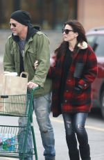 SANDRA BULLOCK Out Shopping in Los Angeles 04/09/2017