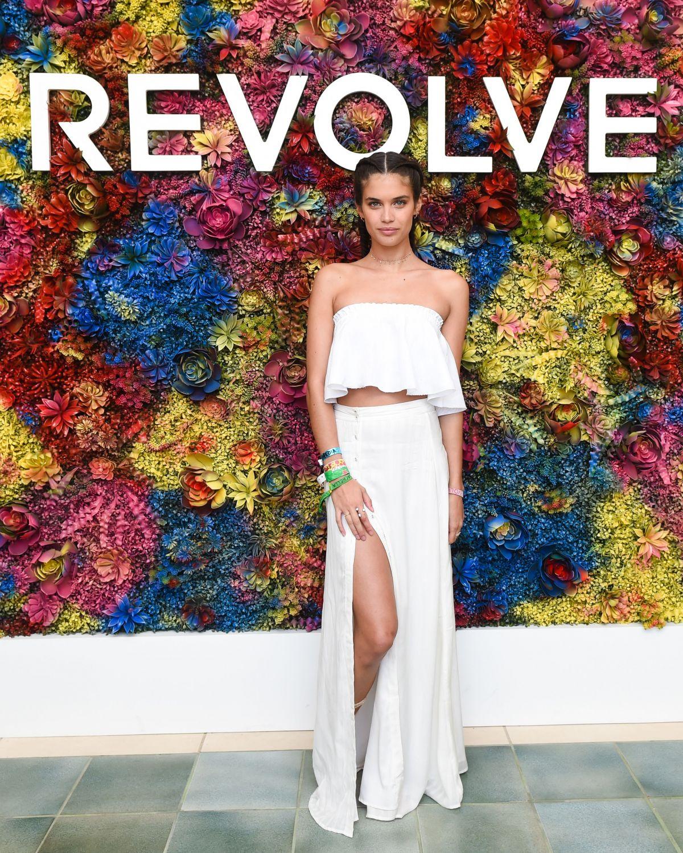 SARA SAMPAIO at Revolve Desert House at 2017 Coachella in Indio 04/15/2017
