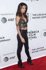 SARA SAMPAIO at The Clapper Screening in New York 04/23/2017