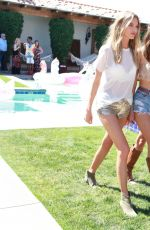 SARA SAMPAIO at VS Angel Oasis at 2017 Coachella Music Festival in Indio 04/14/2017