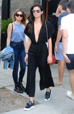 SARA SAMPAIO Out for Lunch at Spago in Los Angeles 04/12/2017