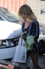SARAH HYLAND Leaves Nine Zero One Salon in West Hollywood 04/02/2017