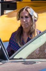 SARAH JESSICA PARKER on the Set of Divorce 2 in New York 04/11/2017