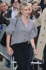 SARAH MICHELLE GELLAR Arrives at AOL Studios in New York 04/03/2017