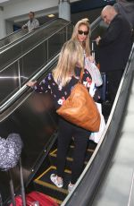 SARAH MICHELLE GELLAR at LAX Airport in Los Angeles 04/24/2017