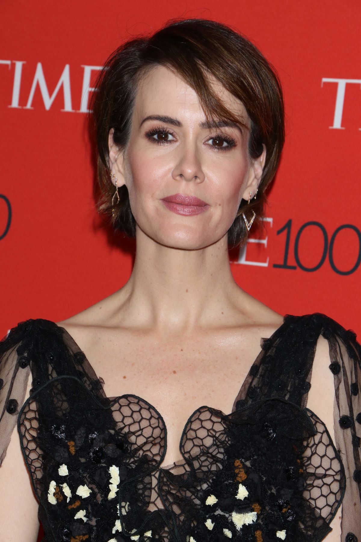 SARAH PAULSON at 2017 Time 100 Gala in New York 04/25/2017 ...