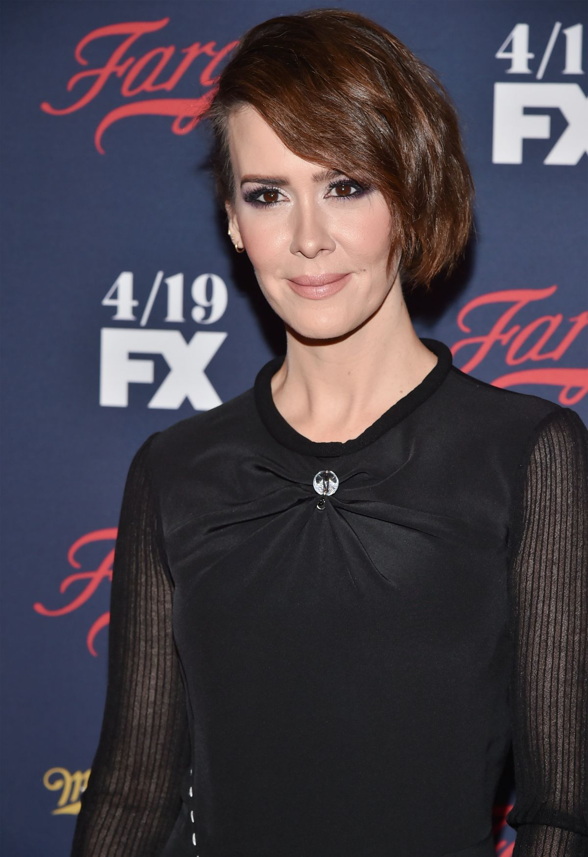 SARAH PAULSON at FX Network 2017 All-star Upfront in New ...