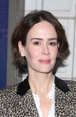 SARAH PAULSON at The Little Foxes Play Opening Night in New York 04/19/2017