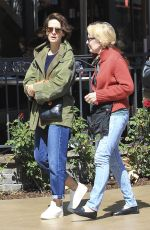SARAH PAULSON Out and About in Los Angeles 04/09/2017