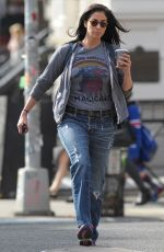 SARAH SILVERMAN Out and About in New York 04/17/2017