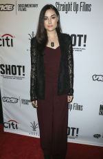 SASHA GREY at SHOT! The Psycho-Spiritual Mantra of Rock Premiere in Los Angeles 04/05/2017