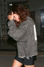 SELENA GOMEZ and The Weeknd Arrives at Tao Beauty & Essex in Hollywood 04/06/2007
