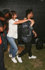 SELENA GOMEZ and The Weeknd at 2017 Coachella Music Festival in Indio 04/14/2017