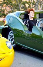 SELENA GOMEZ at Disneyland in Anaheim 04/02/2017