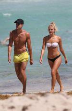 SELENA WEBER in Bikini on the Beach in Miami 04/11/2017