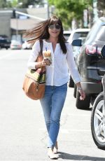 SELMA BLAIR Out and About in Los Angeles 04/28/2017