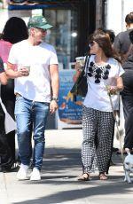 SELMA BLAIR Walks Her Dog Out in Los Angeles 04/19/2017