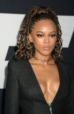 SERAYAH MCNEILL at The Fate of the Furious Premiere in New York 04/08/2017