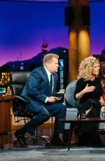 SHANIA TWAIN at Late Late Show with James Corden 04/18/2017