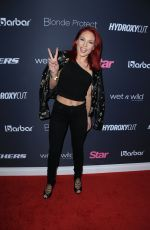 SHARNA BURGESS at Star Magazine's Hollywood Rocks Event at 1Oak in Los Angeles 04/06/2017