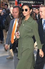 SHAY MITCHELL Arrives at Good Morning America in New York 04/18/2017
