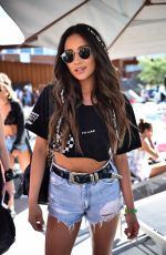SHAY MITCHELL at Blonde Salad x Revolve Pool Party in Palm Springs 04/14/2017