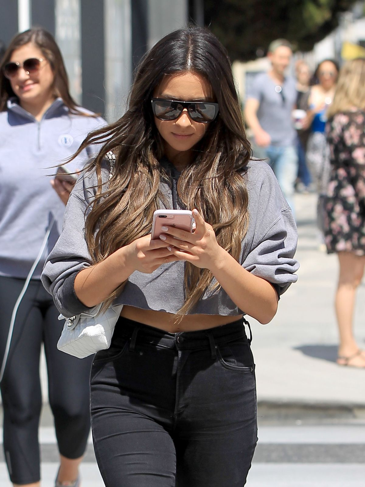 SHAY MITCHELL Out and About in Beverly Hills 04/07/2017