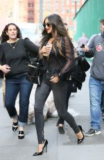 SHAY MITCHELL Out and About in New York 04/17/2017
