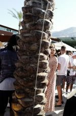 SHEA MARIE at Blonde Salad x Revolve Pool Party in Palm Springs 04/14/2017