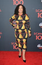 SHONDA RHIMES at Scandal 100th Episode Celebration in Los Angeles 04/08/2017