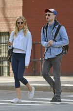 SIENNA MILLER and Tom Sturridge Out in New York 04/11/2017