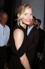 SIENNA MILLER Arrives at The Lost City of Z Screening in New York 04/11/2017
